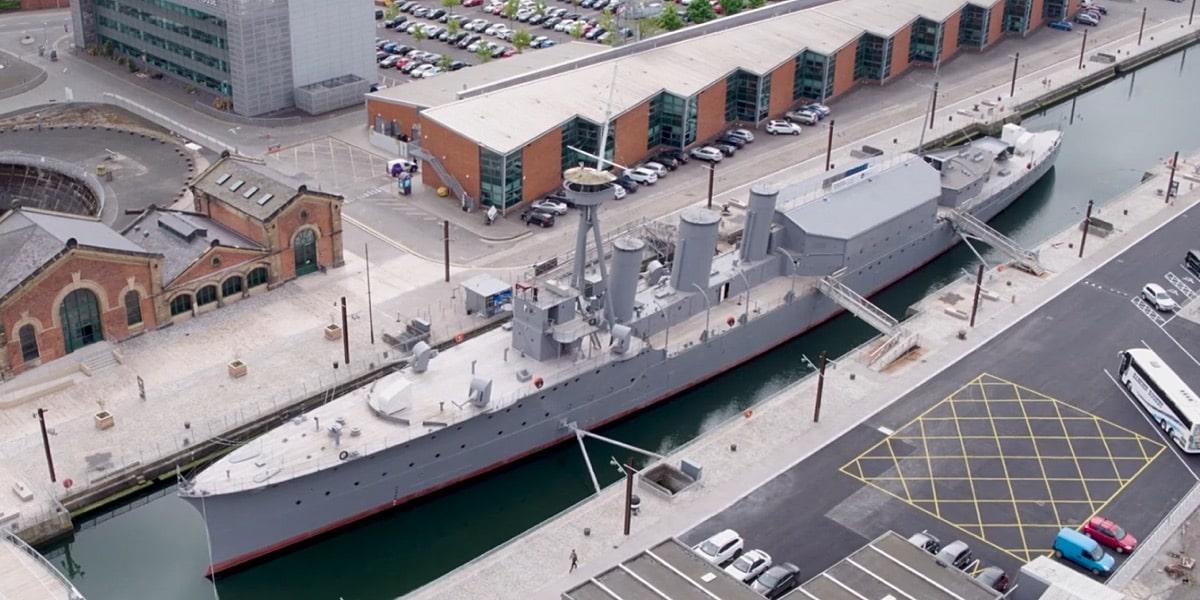 HMS Caroline a floating museum